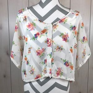 Band of Gypsies Button Up Blouse
